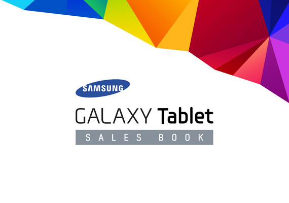 Samsung GALAXY Tablet SALES BOOK