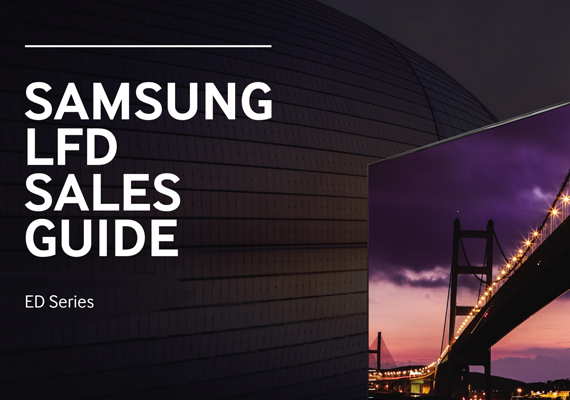 Samsung LFD Sales Guide