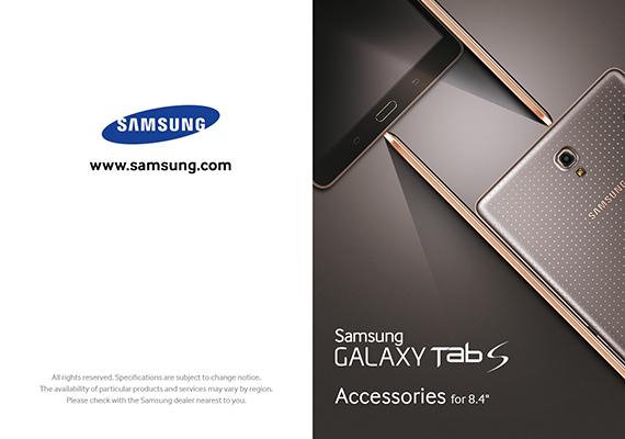 Samsung GALAXY Tab S Leaflet