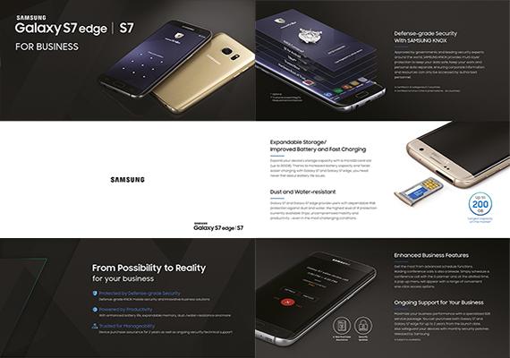 Samsung GALAXY S7 Reflet